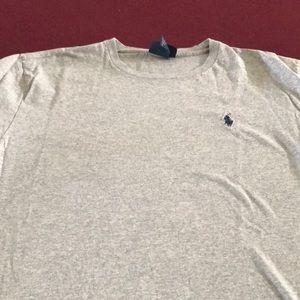 Polo by Ralph Lauren grey t shirt
